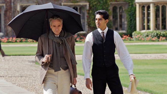 """Jeremy Irons, left, and Dev Patel star in """"The Man Who Knew Infinity."""" The movie opens Friday at Small Star Art House in York City."""