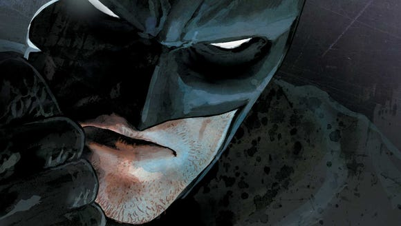 Batman Rebirth No. 1 cover.