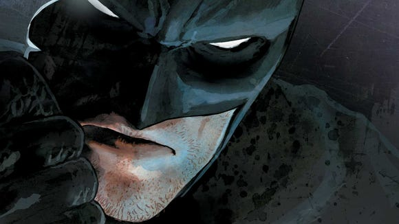 Batman Rebirth No. 1 cover.