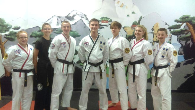 American Taekwondo Association (ATA) students representing McInerney Black Belt Academies in Parlin and Old Bridge have earned the title of 2016 District Champion and the right to compete in the ATA World Champions to be held June 27 to July 3 in Little Rock, Arkansas.