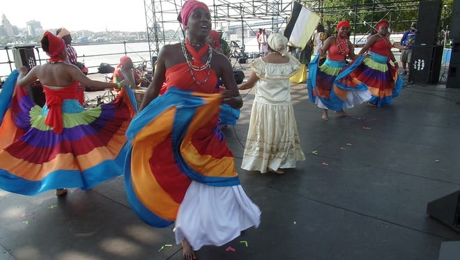 The Garifuna Dance Group performs at the South Jersey Caribbean Festival. This year, the festival is Saturday, July 9.