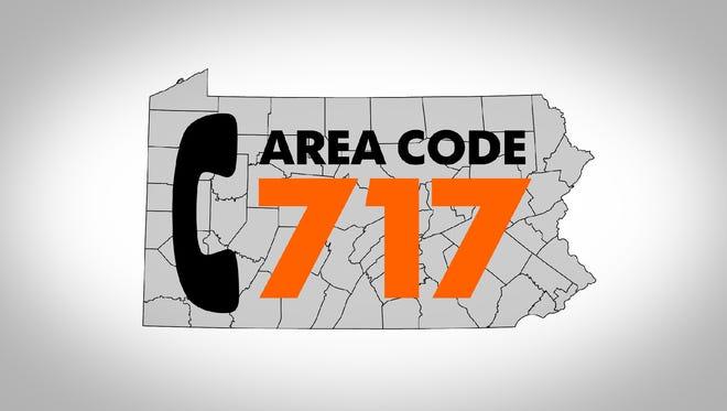 Area code 717