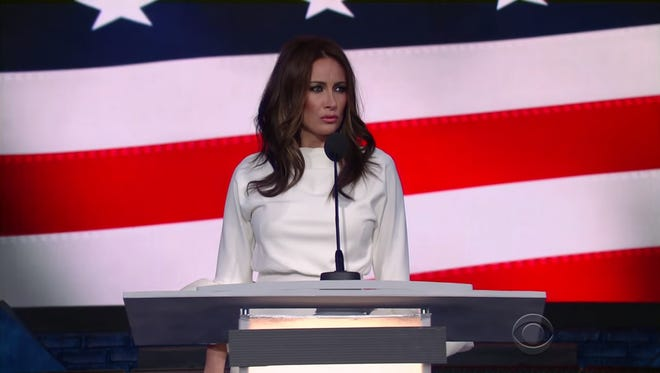 Laura Benanti impersonates Melania Trump on 'The Late Show with Stephen Colbert'