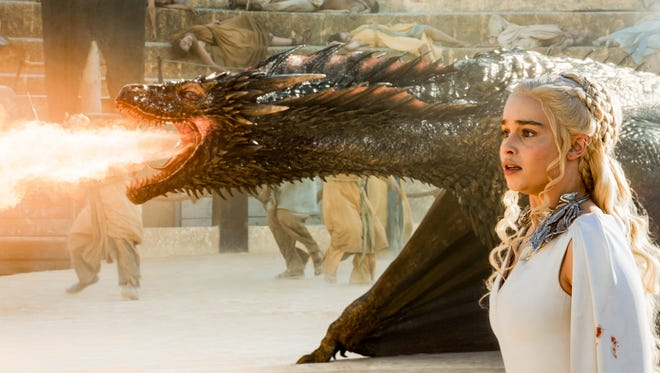 Mother of Dragons Danys Targaryen is a queen of accessorizing, too.