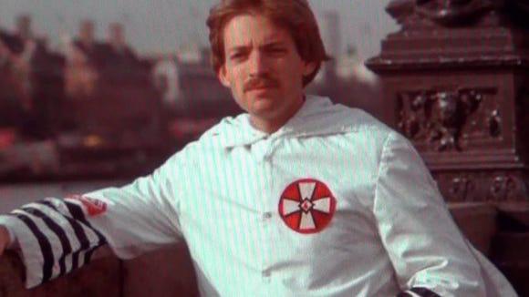 David Duke back in his KKK days.
