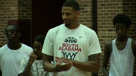 Prattville High graduate Dionte Ferguson is in his second season of playing overseas.