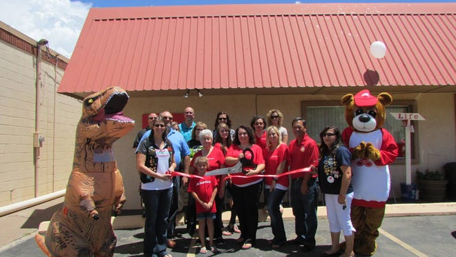 The Alamogordo Chamber of Commerce celebrates the grand opening of Alamogordo's newest State Farm office of Agent Amy Tillotson.