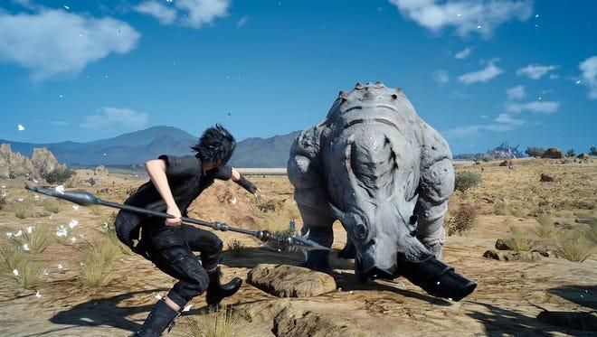 A scene from 'Final Fantasy XV.'