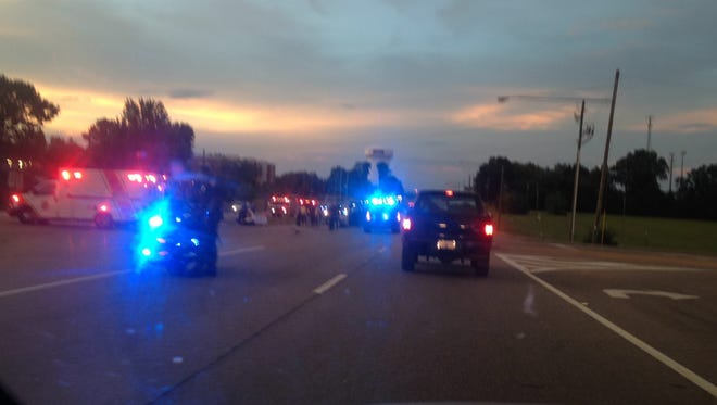 A multivehicle accident occurred on Taylor Road on Thursday.