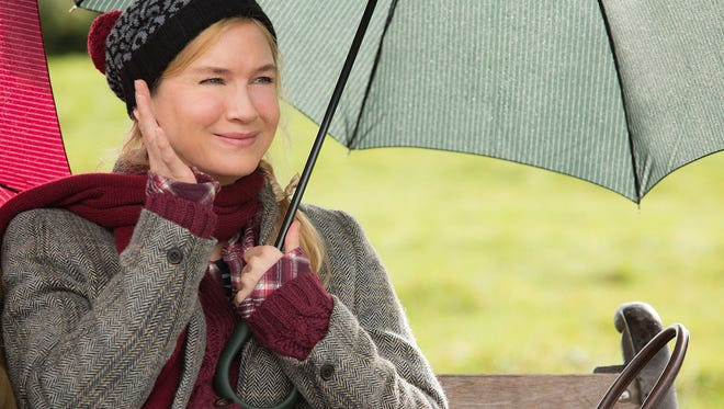 "Renee Zellweger is back as Bridget Jones in ""Bridget Jones's Baby."""