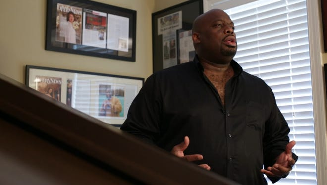 Morrison Robinson went from college football star to opera singer.