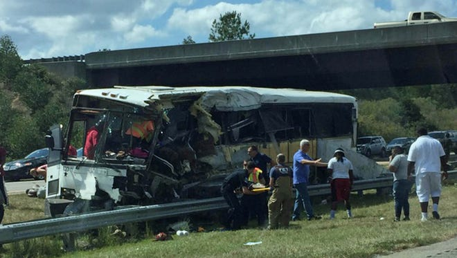 Troopers have said that a Rock Hill (S.C.) football team had its bus crash and lead to fatalities.
