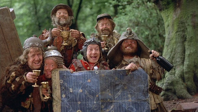 """A band of plucky marauders travel through time with the help of a handy little map in Terry Gilliam's 1981 adventure-comedy """"Time Bandits."""""""