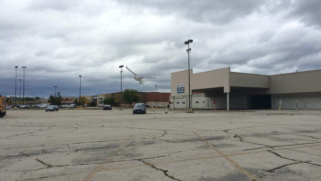 The western, vacant end of East Town Mall.