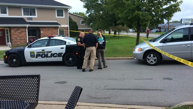 Police are investigating a shooting on the 800 block of Lime Kiln Road.