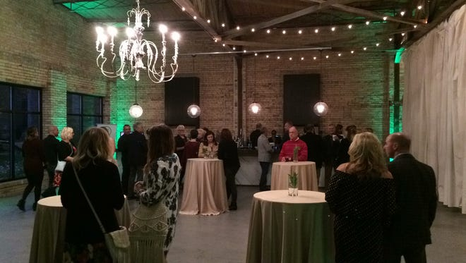 About 70 people attended a kickoff event for Project GreenLight at Gather on Broadway on Oct. 15. The event was a fundraiser for The Farmory project.