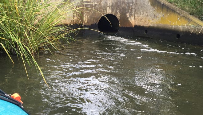 Rehoboth Beach wastewater discharges into the Lewes and Rehoboth Canal, but city officials have proposed piping it into the ocean.