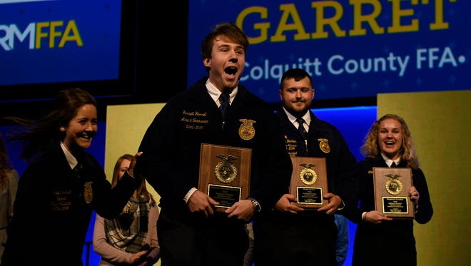 FFA members from across the U.S. were recognized for their achievements during the National FFA Convention & Expo.