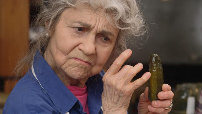 "Lynn Cohen stars in ""The Pickle Recipe."""