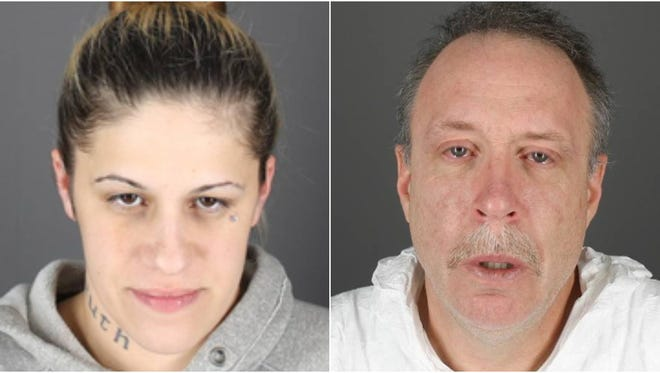 Tammy Labarbera and Douglas Berl charged in armed robbery.