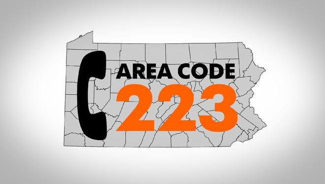 Area code 223