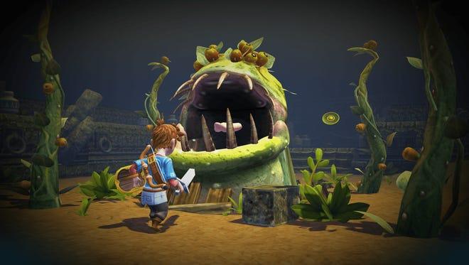 """""""Oceanhorn: Monster of Uncharted Seas"""" review."""