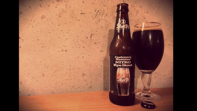 Cashmere Hammer Nitro Rye Stout | 3 Sheeps Brewing Co.