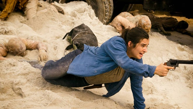"""Getting stuck in the sand is the least of Tara's worries in """"Swear"""""""