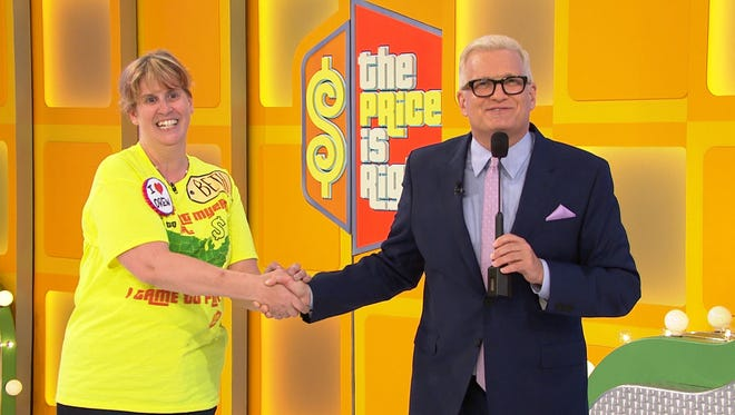 Beth Stark of Fort Myers won two vacation packages on Wednesday's episode of 'The Price Is Right.'