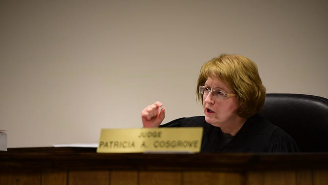 Visiting judge Patricia Cosgrove will preside in the criminal case against former Sandusky County Sheriff's Office Detective Sean O'Connell.