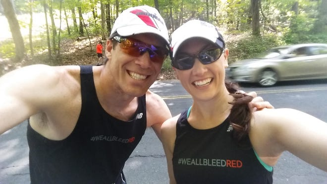 Sean Alexander and Colleen Kelly Alexander are competing in the HITS triathlon sprint division Sunday. A little over five years ago, Kelly Alexander was run over by a large freight truck and suffered numerous life-threatening injuries. With the help of her husband Sean and countless doctors, nurses and physical therapists, Kelly Alexander made it back to competition two years after her near-death experience.