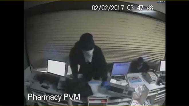 Springfield Police are asking for the public's help in identifying two suspects who broke into two area pharmacies early Thursday.