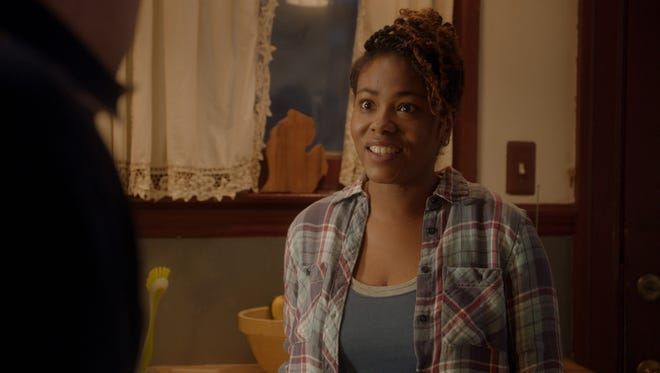 Shawntay Dalon in a scene from Comedy Central's 'Detroiters.'