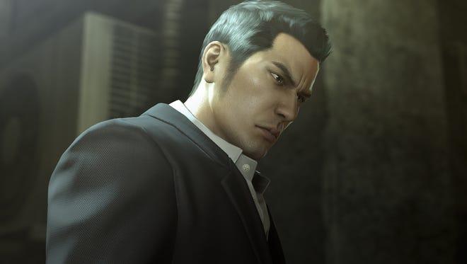 """Kazuma Kiryu of """"Yakuza 0"""" for PlayStation 4."""