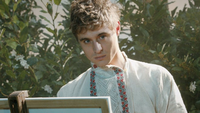 "Max Irons stars in ""Bitter Harvest,"" a love story set in 1930s Ukraine."
