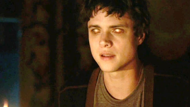 """The eyes have it: Douglas Smith in """"The Bye Bye Man."""""""