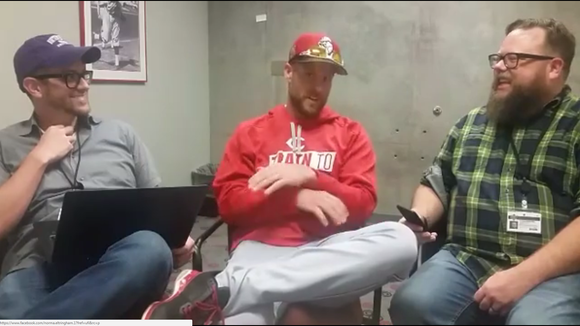 Reds shortstop Zack Cozart joins the Reds Beat live chat at the team's spring training complex in Goodyear, Ariz.