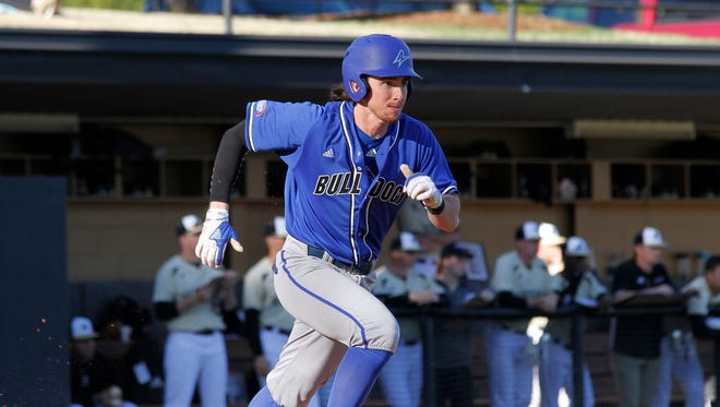 Tuscola alum Justin Woods is a senior outfielder/pitcher for UNC Asheville.