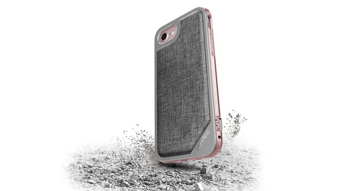 The X-Doria Lux iPhone 7 case features a tough outer shell and a nifty detachable frame for ease of use.