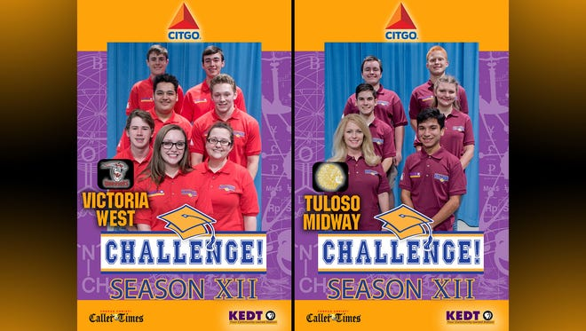 Victoria West - James Easton, Caleb Urbano, Roberto Perales, Anthony Fieramusca, Lane Gautreaux, Coach Victoria Rozner, Sarah Andruss | Tuloso Midway - Morgan McCown, Rush Hoelscher, Ryan Bailey, Aynsley Chaloupka, Coach Gwynetta Hoelscher, George Duran