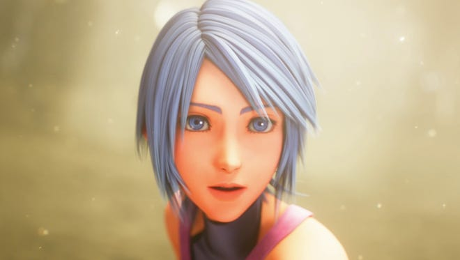 Aqua is the protagonist for an all-new chapter in Kingdom Hearts 2.8.