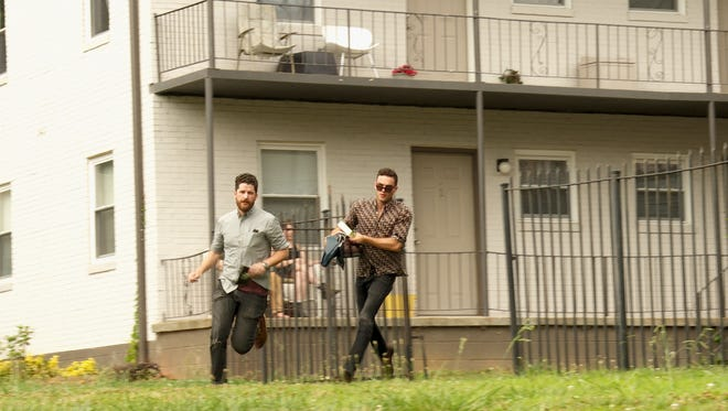 """Lee Wilson (left) and Hilmar Skagfield are winners of the CBS reality show """"Hunted."""""""