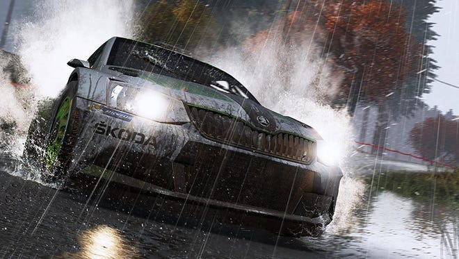 Get down and dirty in WRC 6,
