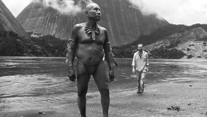 """Shaman meets explorer in """"Embrace of the Serpent,"""" which Indie Memphis brings to Memphis on May 24."""