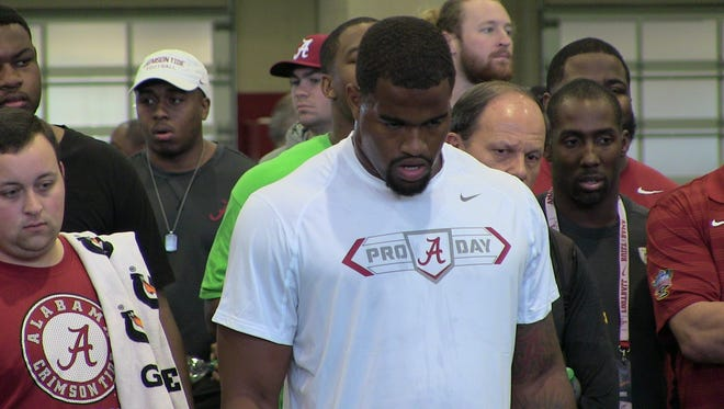 Jonathan Allen should go in the first round of the 2017 NFL Draft next month in Philadelphia. The question is where.