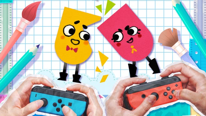 Snipperclips for the Nintendo Switch.