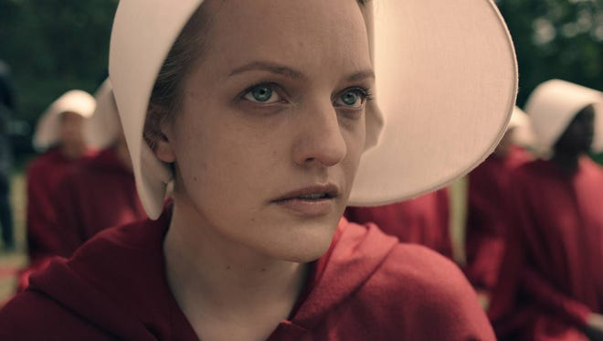 Elisabeth Moss plays Offred in Hulu's 'The Handmaid's Tale.'
