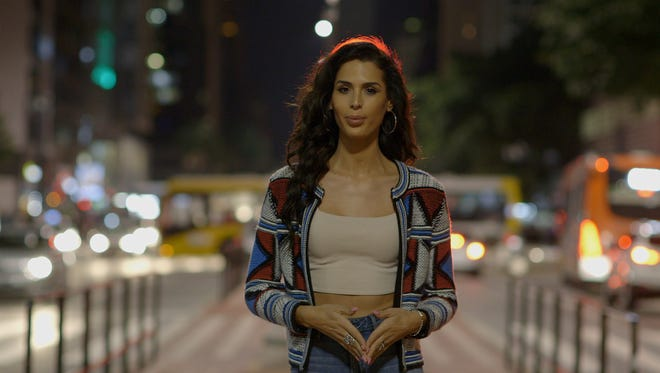 """Carmen Carrera stars in the first episode of """"Outpost"""" on Fusion TV."""