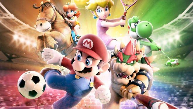Mario Sports Superstars for Nintendo 3DS.
