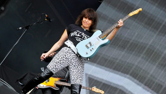 Chrissie Hynde couldn't care less about rock 'n' roll status, all she wants is to play music.